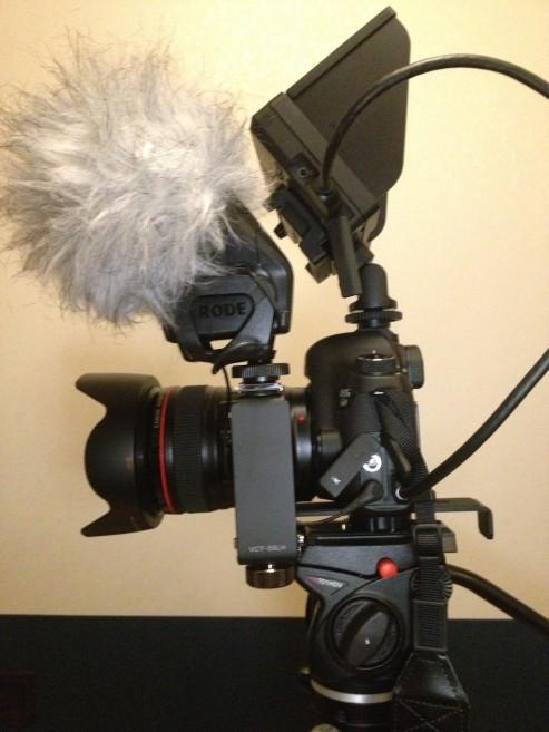 CLM-V55,VCT-55LH,STEREO VIDEOMIC PRO(2)